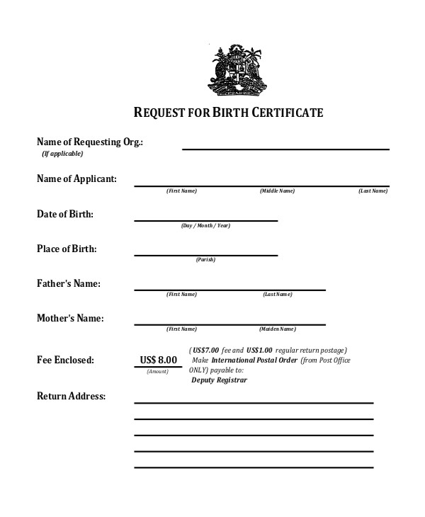 Baptismal Certificate Template 18 Sample Baptism Certificate Templates Free Sample