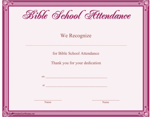 Bible Study Certificate Templates 6 Best Images Of Printable Vbs Certificates Vacation
