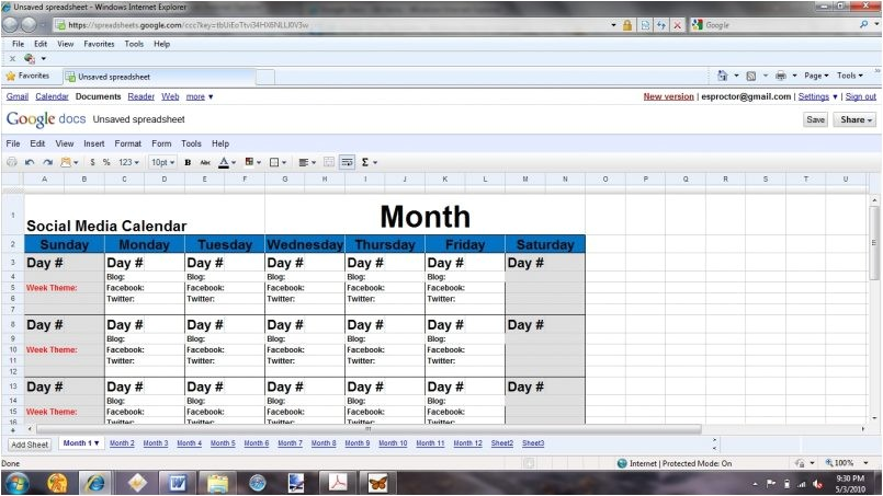 Blog Editorial Calendar Template Excel Template Basics Of the social Media Editorial Calendar