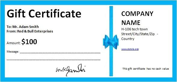 7 free gift certificates