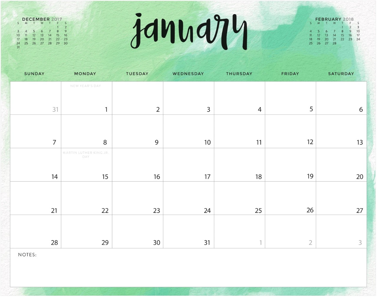 Calendar with Pictures Template January 2018 Calendar Excel Template Calendar 2018