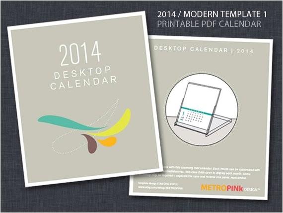 2014 printable cd case calendar template