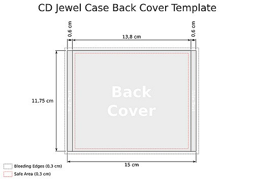 cd jewel case template