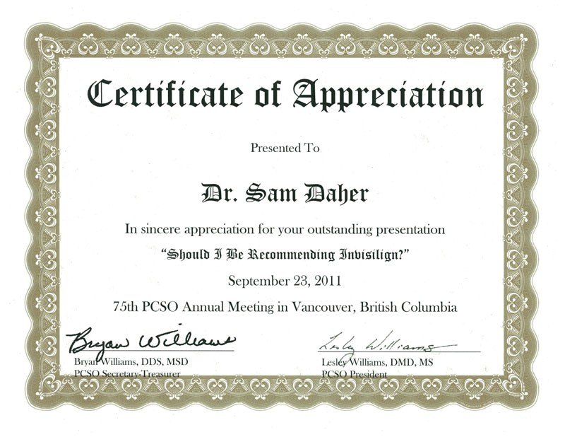 Certificate Of Appreciation for Speakers Template Appreciation Certificate Certificate Templates