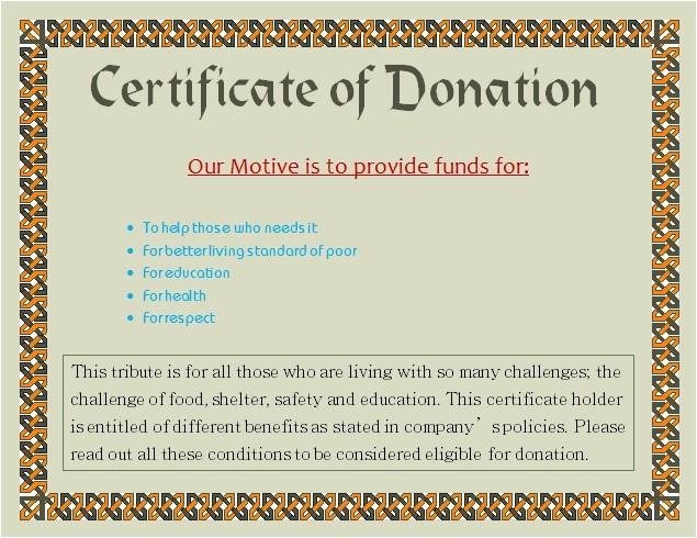 charity voucher templates