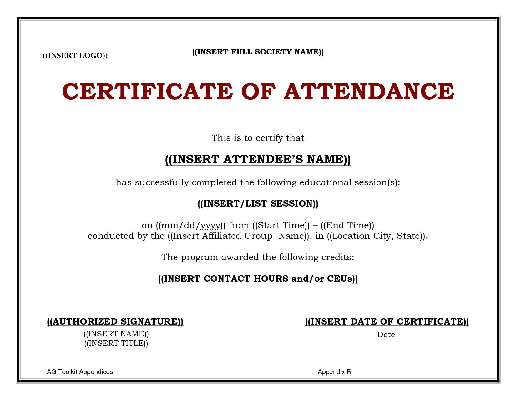 cme certificate template