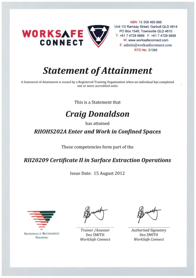 cd confined space certificate 53697275