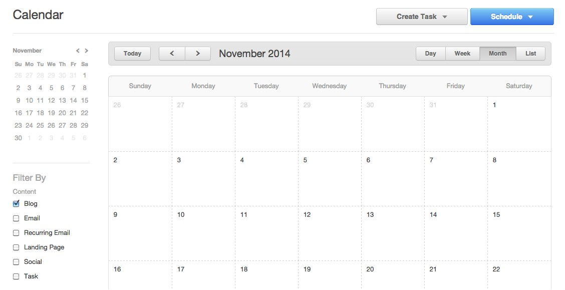 hubspot users rejoice we now have a content calendar
