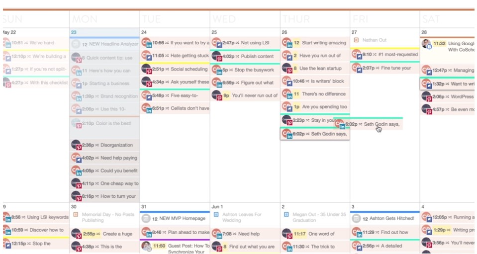 Content Calendar Template Hubspot tools and Templates for Planning social Content