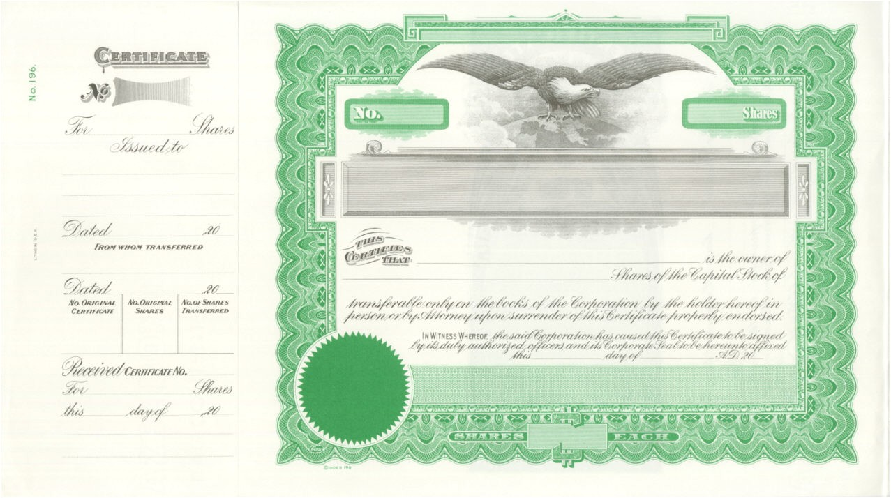 Corpex Stock Certificate Template Corpex Stock Certificate Template Beautiful Groszugig