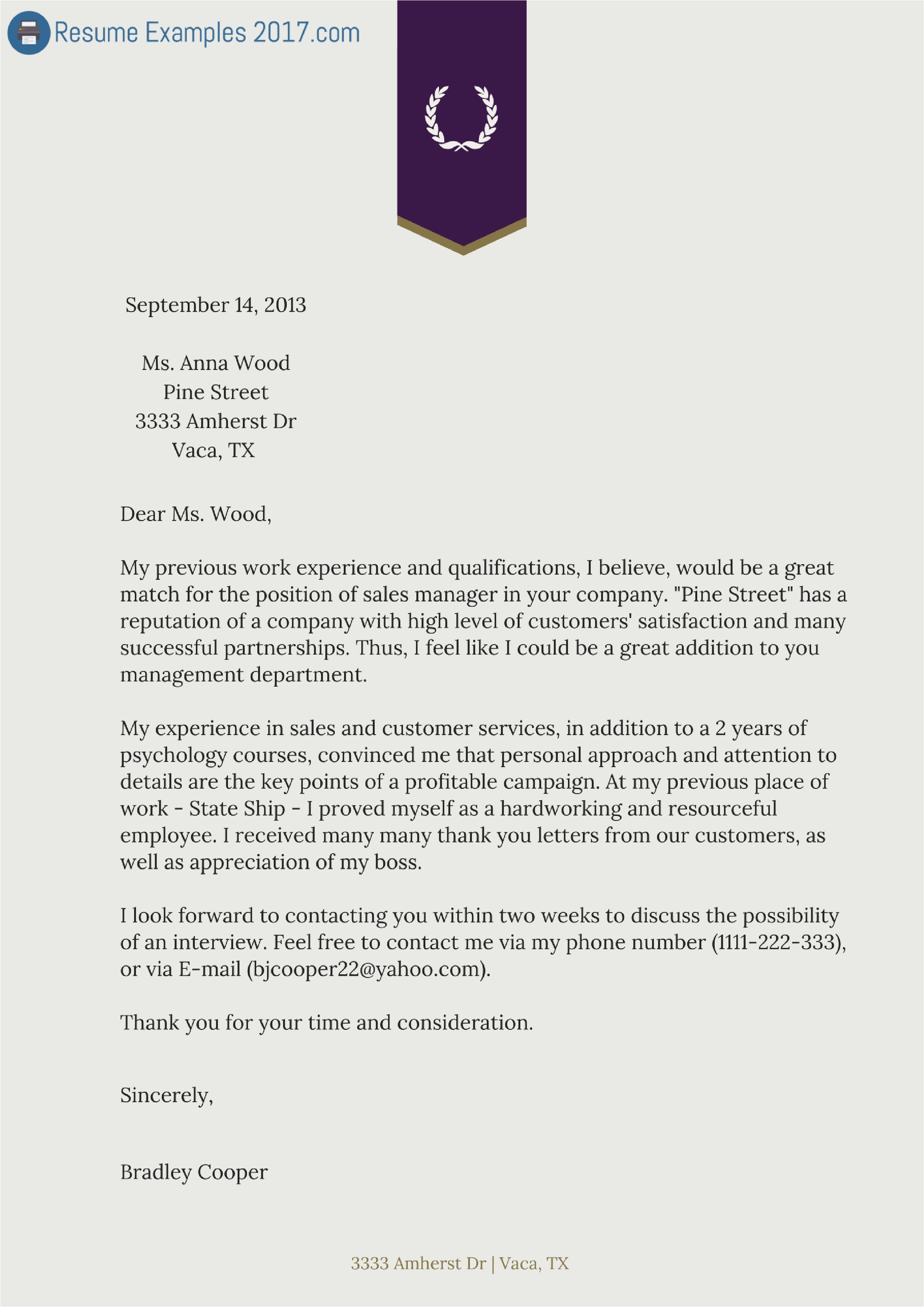 Cover Letter Templats Download Cover Letter Samples