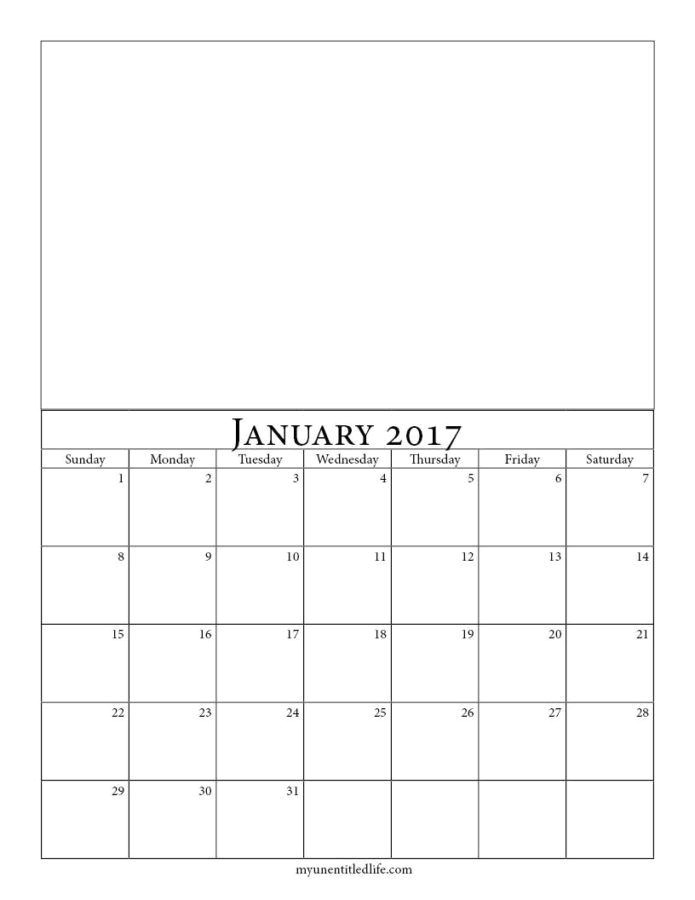 make your own printable calendar