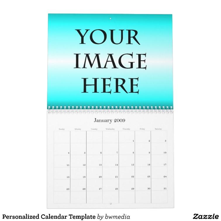 personalized calendar template 158965873206283518