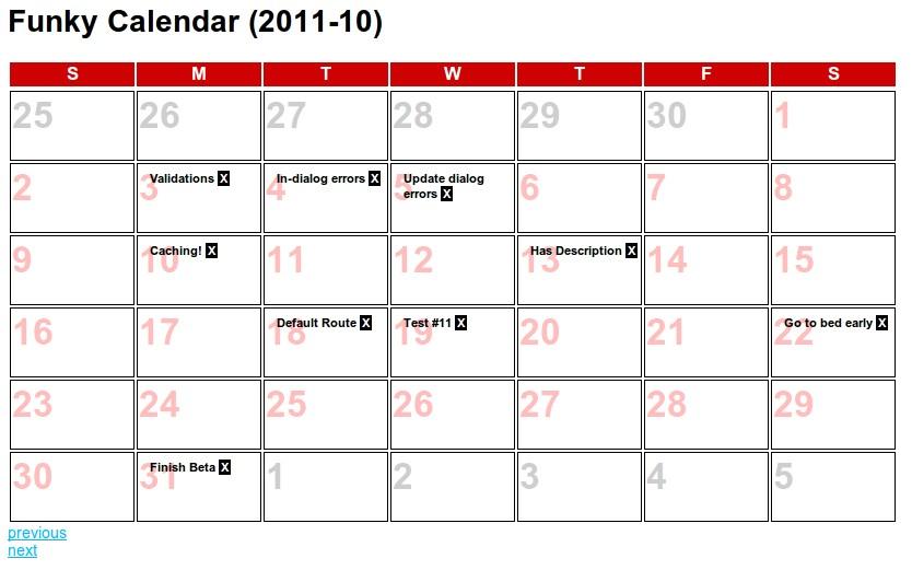 december appointment calendar