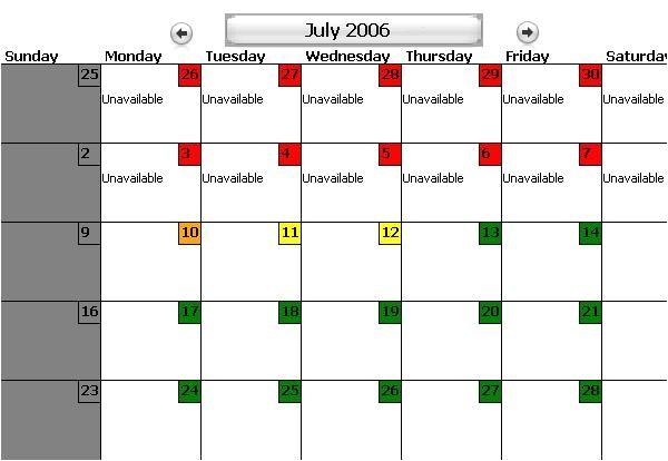 customizable calendars