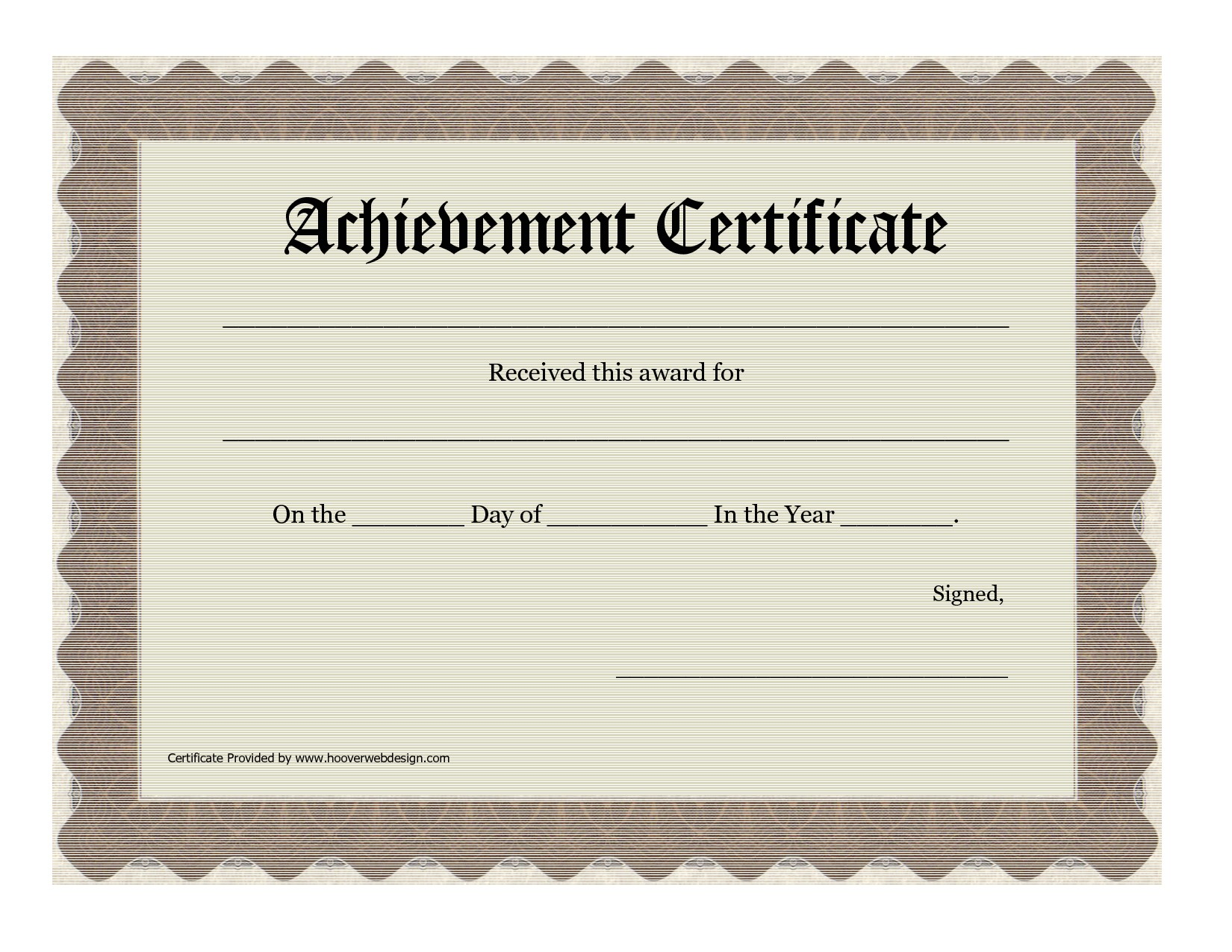 post customized free printable awards certificates 272624