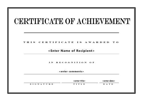 Customized Certificate Templates Award Certificates Templates Certificate Templates