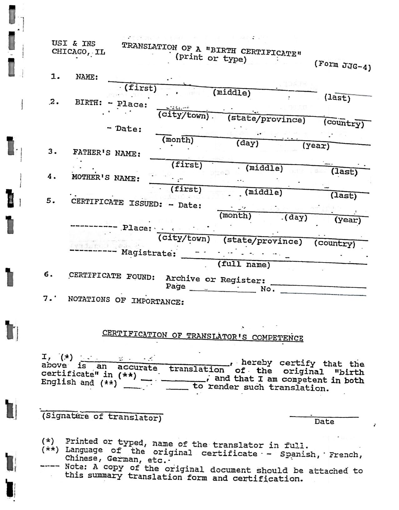 Death Certificate Translation Template Spanish to English Best Photos Of Spanish Death Certificate Templates Death