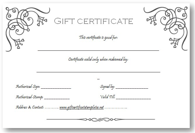 Design A Gift Certificate Template Free Art Business Gift Certificate Template Beautiful