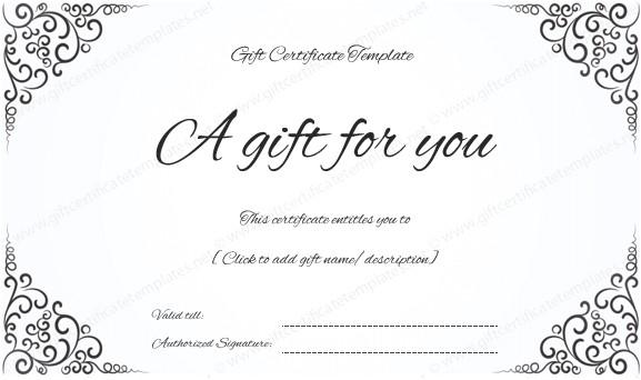 www giftcertificatetemplates net