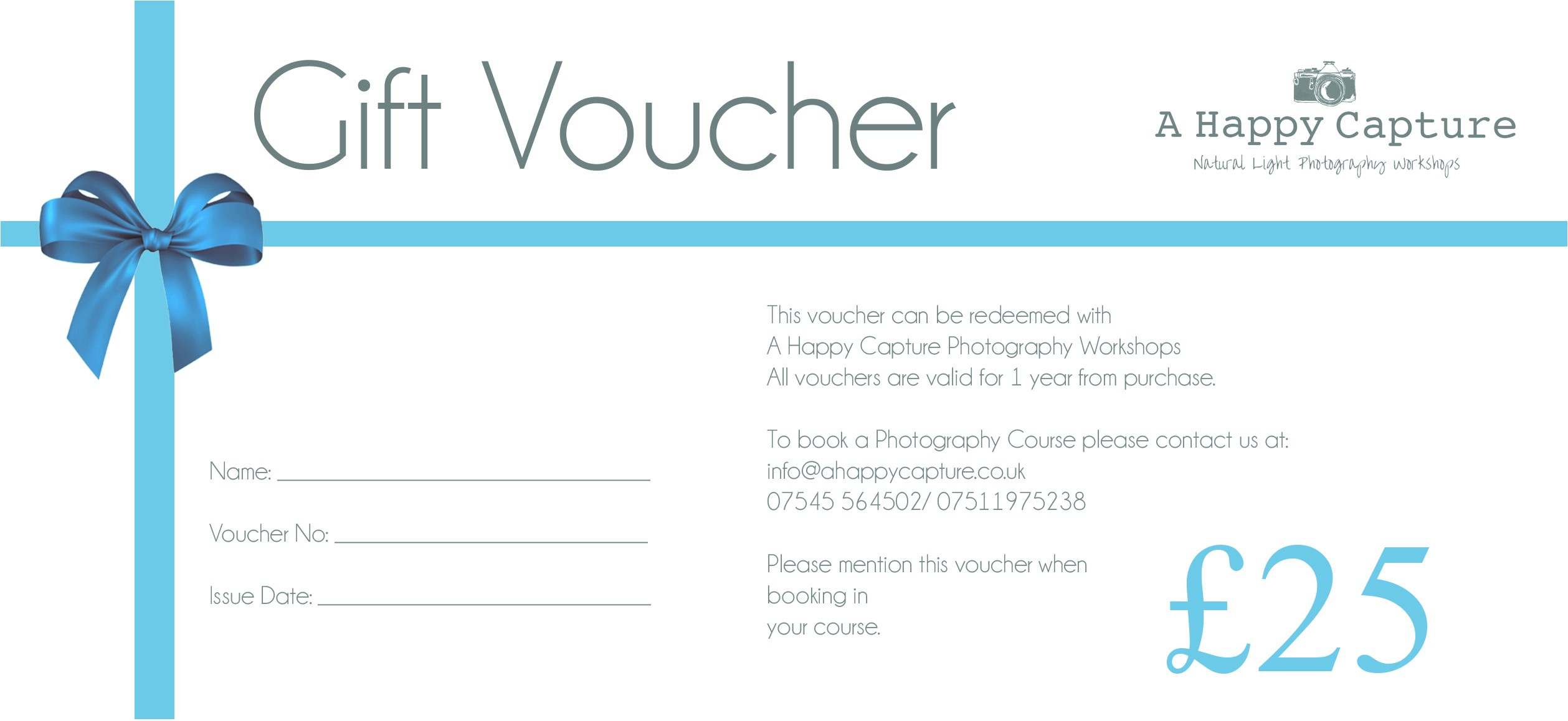 gift voucher format sample