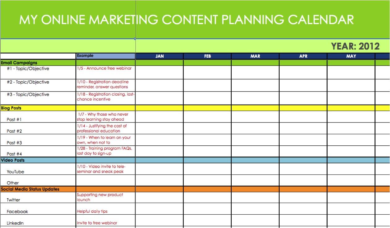 marketing calendar excel 208