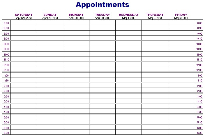 importance of appointment schedule respond