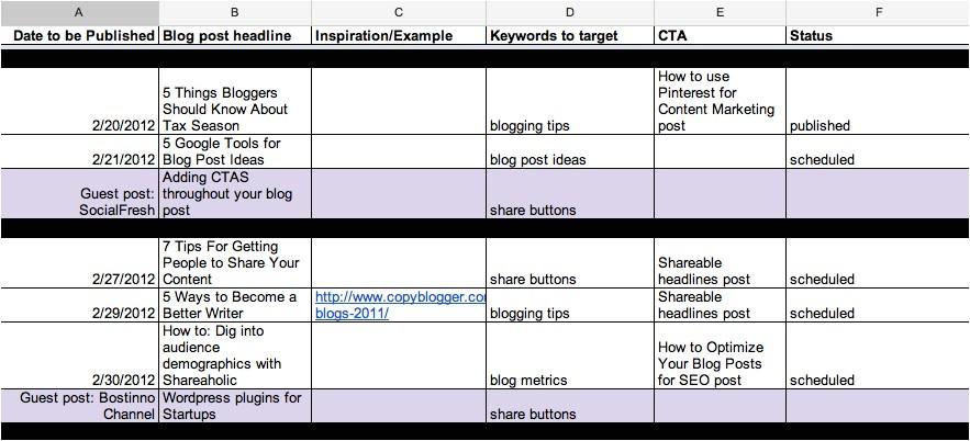 15 life changing editorial calendar tools