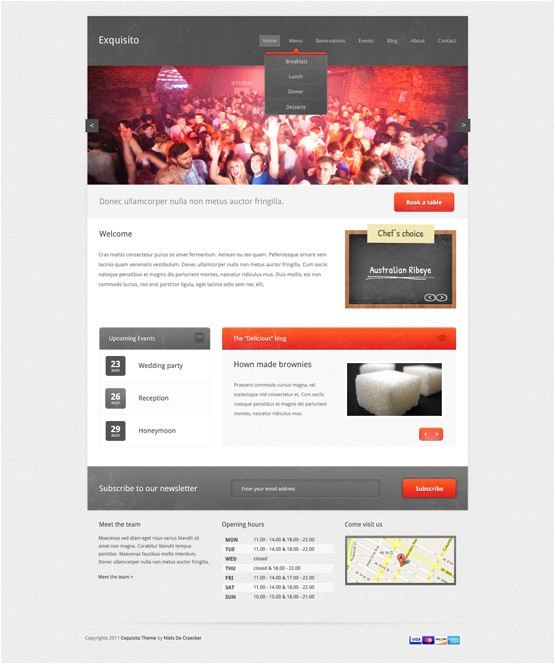 Event Calendar Template for Website 20 WordPress event Calendar and event Management Templates
