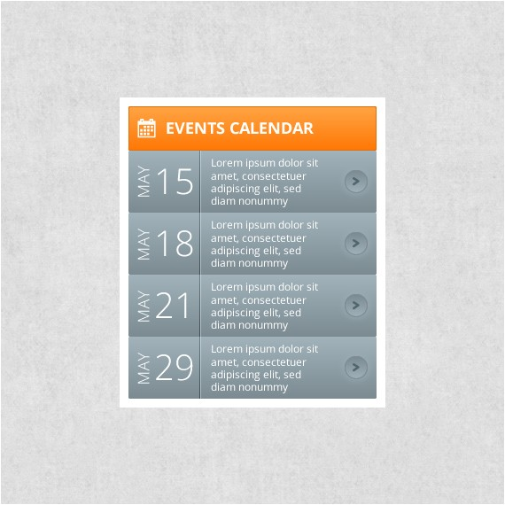 Event Calendar Template for Website events Calendar Webportio Graphical Resource Of Adobe
