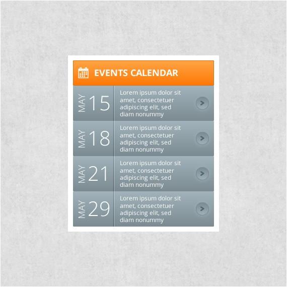 Event Calendar Website Template events Calendar Webportio Graphical Resource Of Adobe