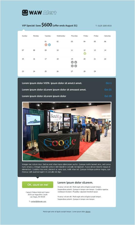 Event Calendar Website Template WordPress event theme event Management Website Templates