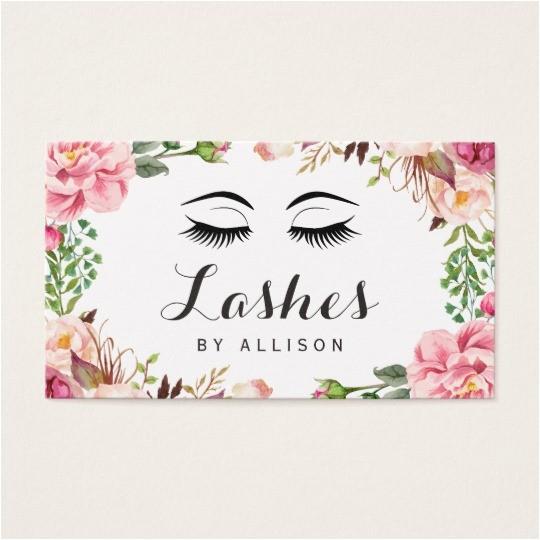 eyelash extension business cards eyelash business cards templates zazzle free