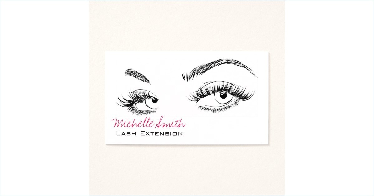 eyelash extension gift certificate template