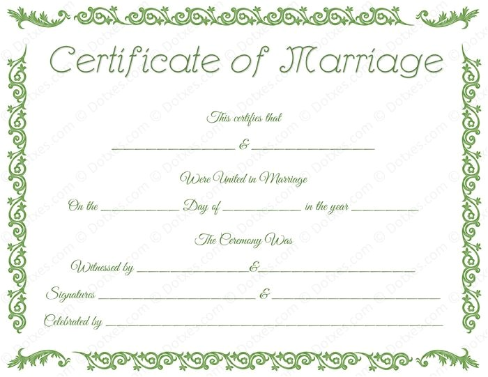 Fake Marriage Certificate Template 34 Best Printable Marriage Certificates Images On Pinterest
