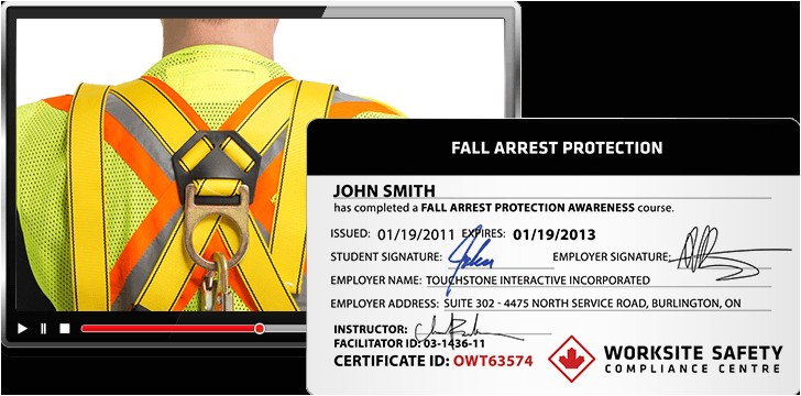 fall arrest training