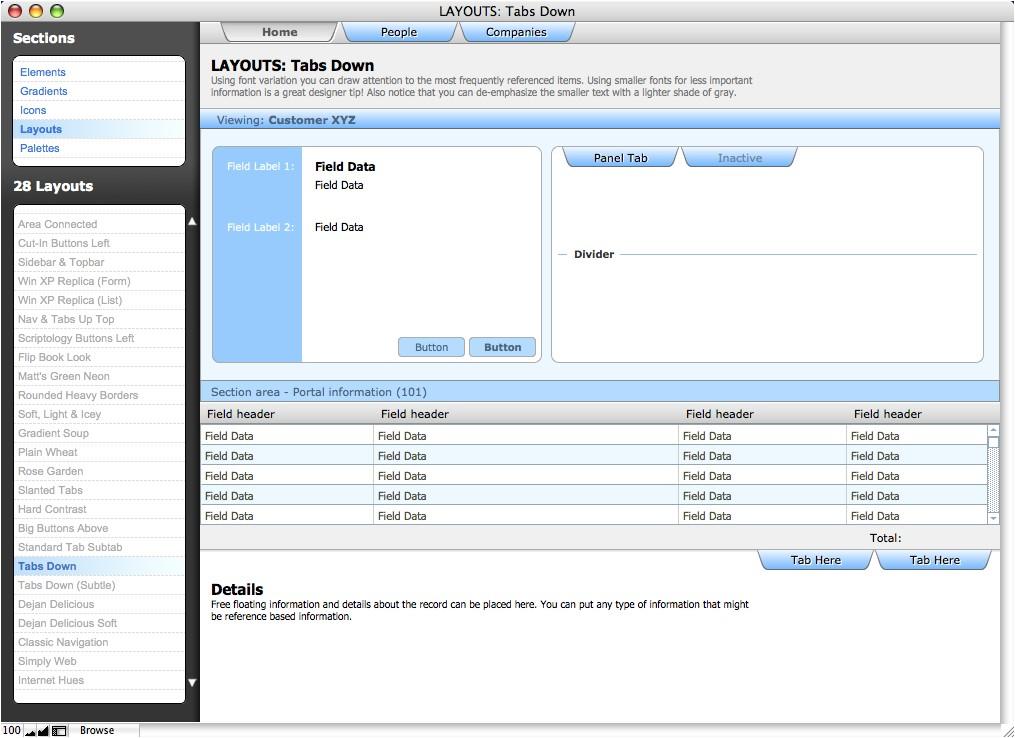 filemaker pro invoice template