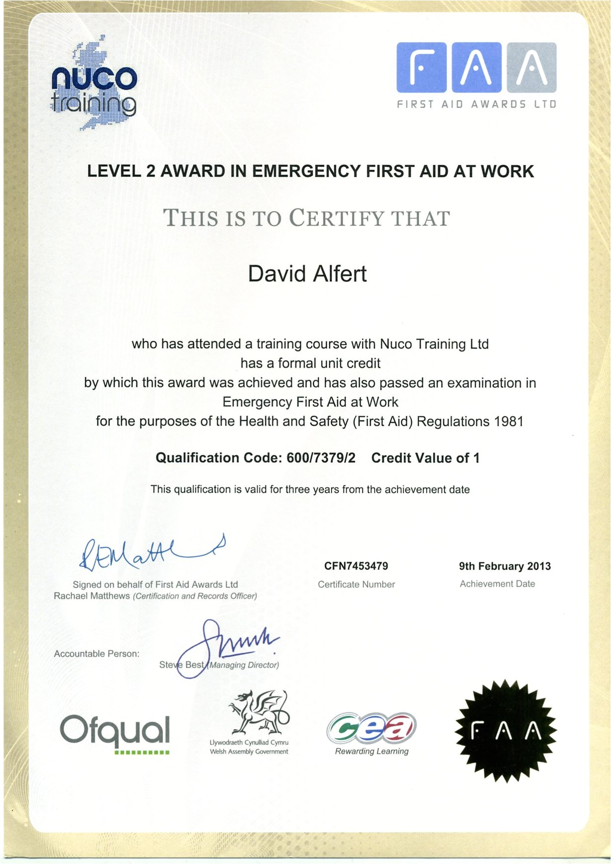 post first aid certificate printable 211999