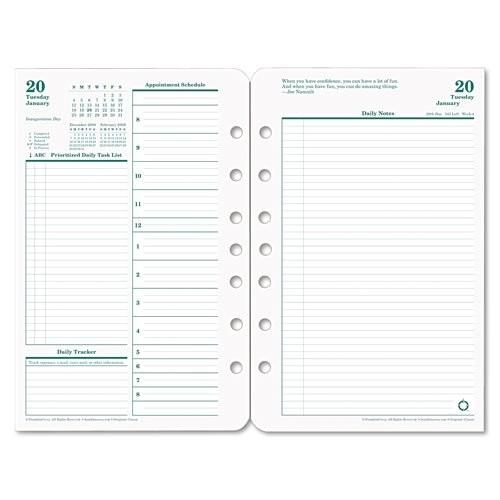 Franklin Planner Calendar Template Free Franklin Planner