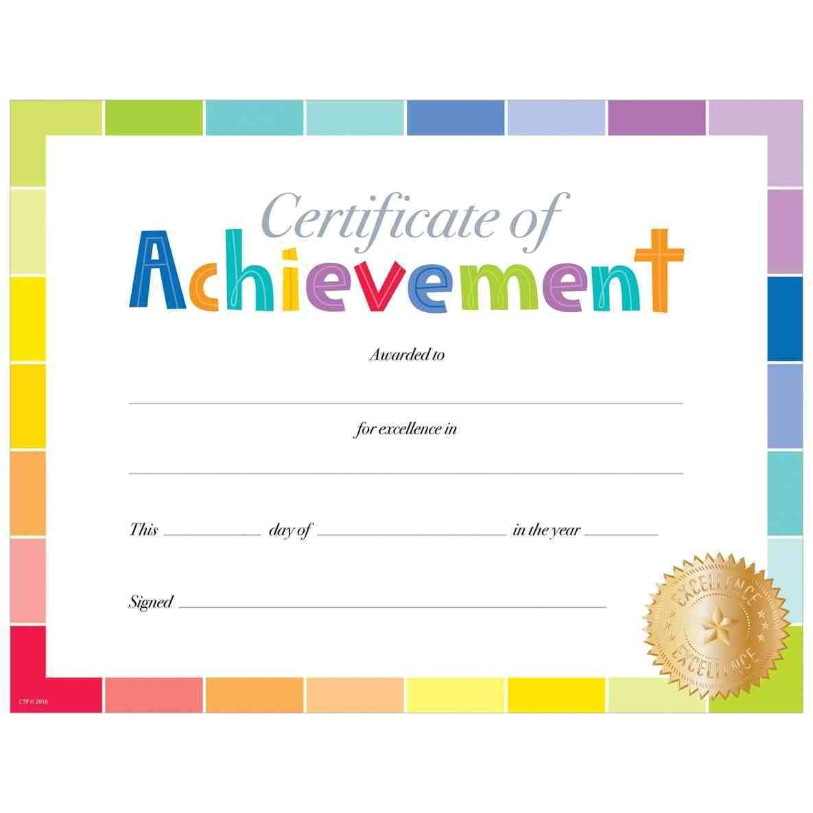 editable certificate template for kids