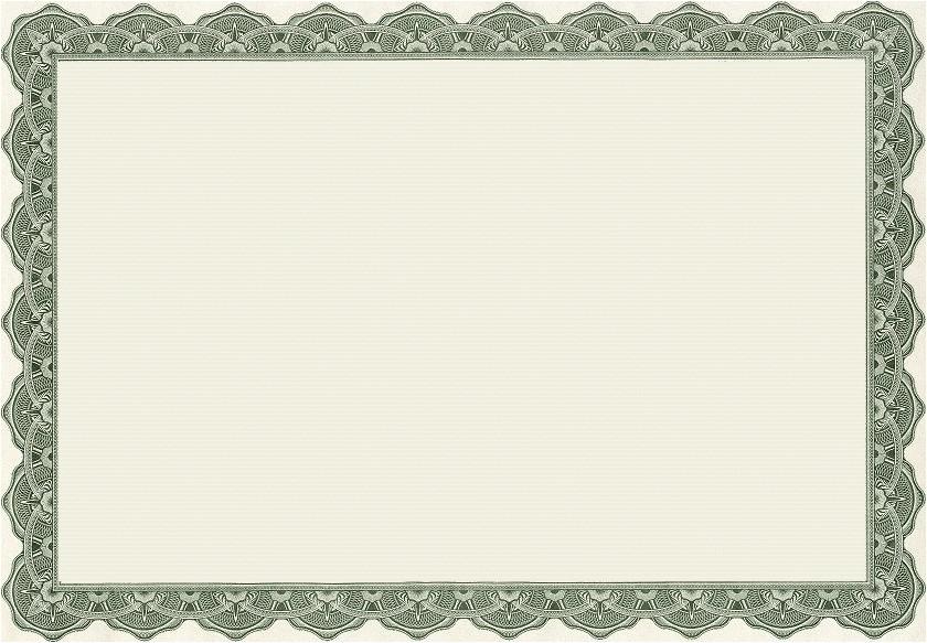 Free Blank Certificate Templates Blank Certificates Certificate Templates