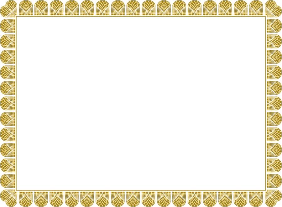 high resolution award certificate template borders