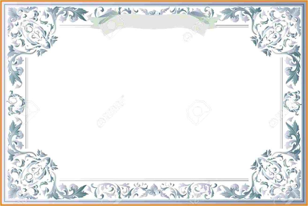 15 vector printable blank certificates