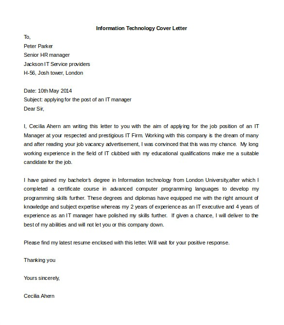 Free Cover Letter Templates Word 54 Free Cover Letter Templates Pdf Doc Free