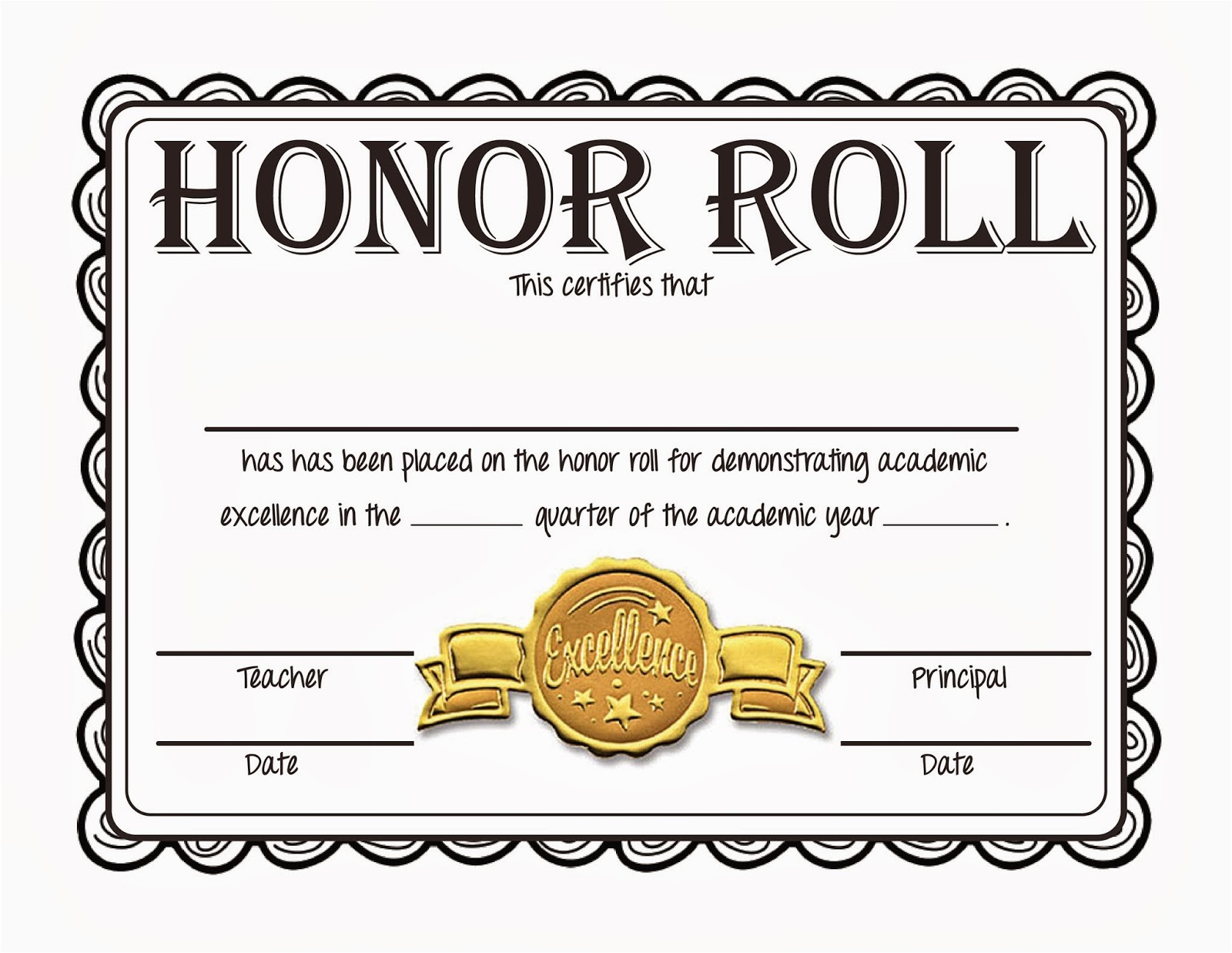 quotes for honor rolls students