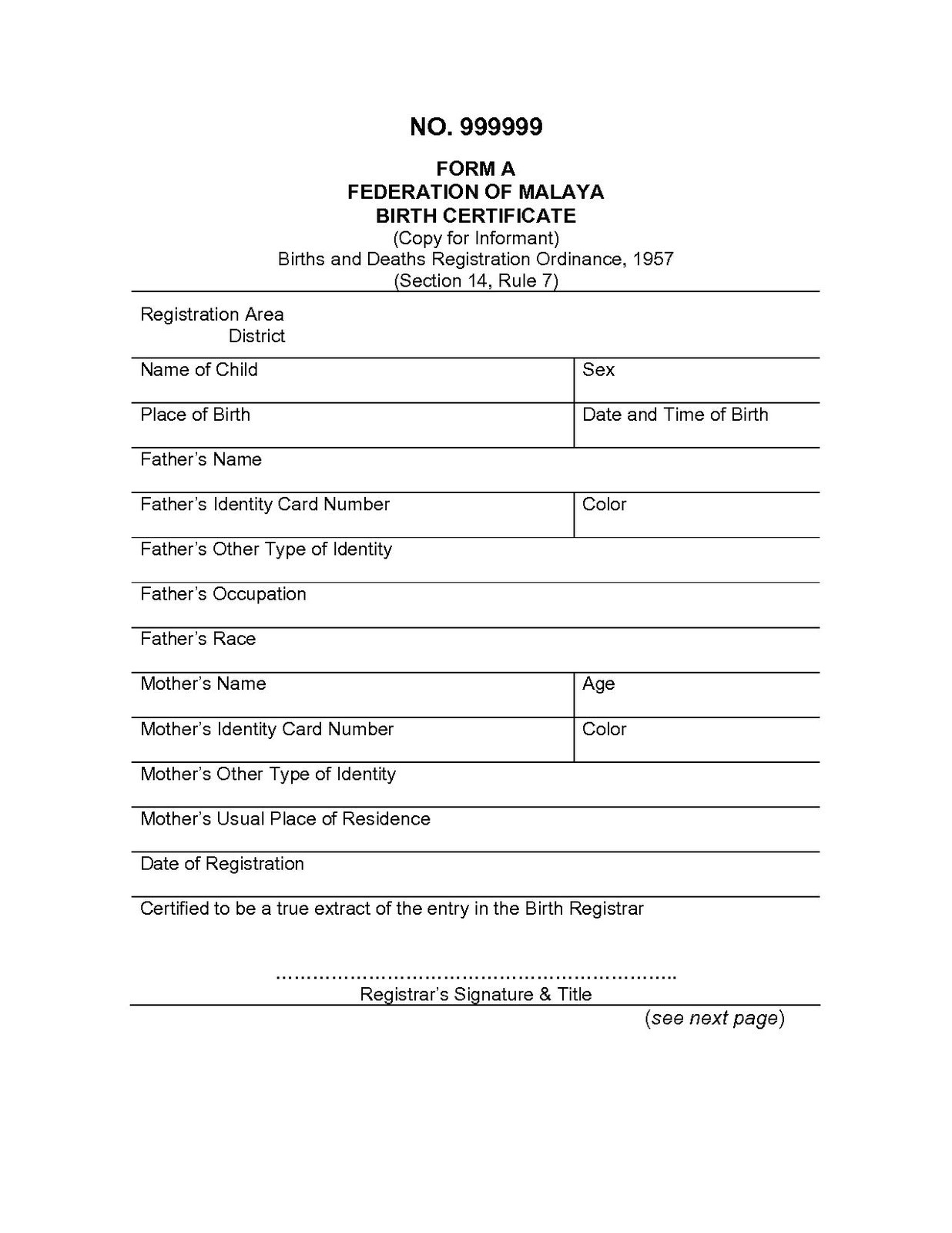 Free Marriage Certificate Translation Template Migration to Australia Diy Sample Translated Documents