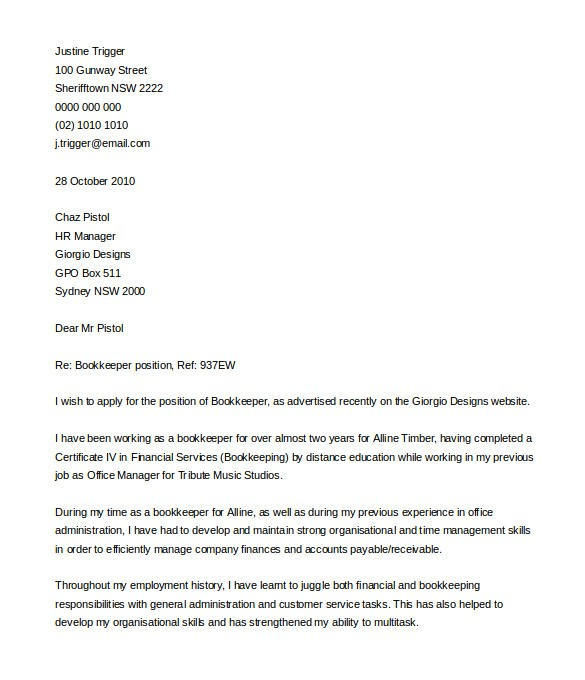best free cover letter templates