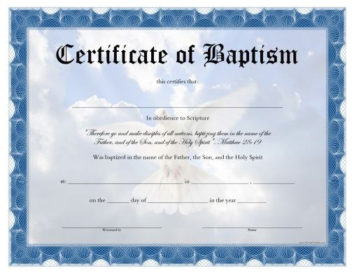 Free Water Baptism Certificate Template 10 Best Projects to Try Images On Pinterest Certificate