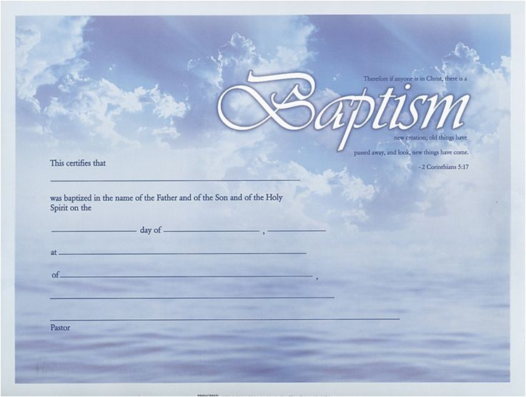 Free Water Baptism Certificate Template Baptism Certificate Google Search Baptism Pinterest