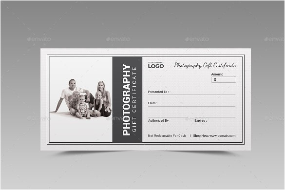 Gift Certificate Template for Photographers 12 Photography Gift Certificate Templates Free Sample